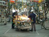 picture of assembly line  - Auto Industry - JPG