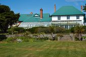 image of falklands  - Government House in Stanley - JPG