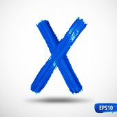 foto of letter x  - Alphabet Letter X - JPG