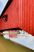 picture of covered bridge  - Indiana - JPG