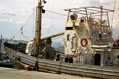 Oxidação de barco