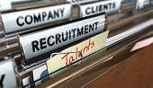 Постер, плакат: Talents Recruitment Agency