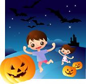stock photo of casper  - halloween night series - JPG