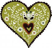 projeto coração vintage