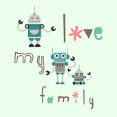 the robot family