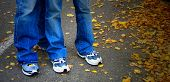 Blue Jeans & Autumn Leaves