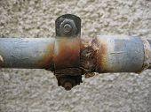 Metal Rusty Pipe