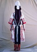 Traditional Macedonian Clothes,Back