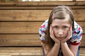 Sad Girl # 1