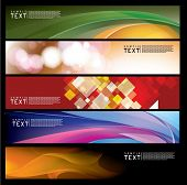 Vector Horizontal Banner