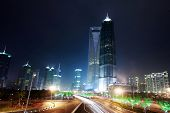 SHANGHAI - JUNE 14: Jin Mao Tower and Shanghai word financial center (who is the TOP 3 high in this