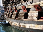 Old Spanish galleon