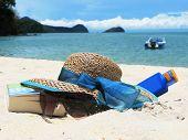 Beach scene. Langkawi island, Malaysia