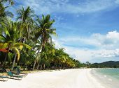 picture of langkawi  - Tropical beach of Langkawi island - JPG