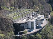 Power station in the southern Switzerland