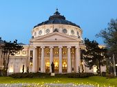 Romanian Athenaeum is Bucharest's most prestigious concert hall and one of the most beautiful buildi