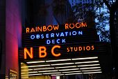 NEW YORK CITY - MAY 8:The historic Rockefeller Center is home to NBC studios, an observation deck, a