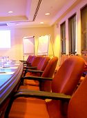 Business training room or board room
