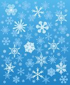Snowflakes background winter. Vector illustration
