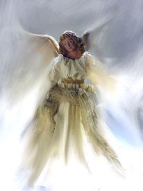 image of christmas angel  - angel - JPG