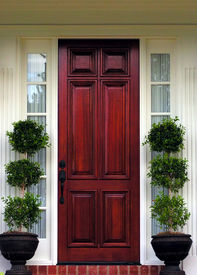 image of front door  - the front door - JPG