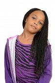 Portrait cute south african child