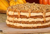 Autumn Pumpkin Cake