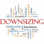Downsizing Word Cloud Concept