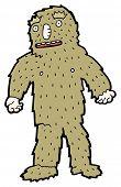 picture of bigfoot  - cartoon bigfoot - JPG