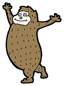 picture of bigfoot  - cartoon bigfoot - JPG