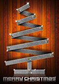 Metal Folding Rule Christmas Tree
