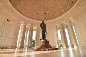 picture of thomas jefferson memorial  - Thomas Jefferson Memorial in Washington DC United States - JPG