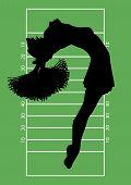 Football Cheerleader 4