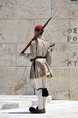 Greek Soldier Standing