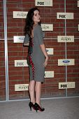 LOS ANGELES - SEP 10:  Shannon Woodward arrives at the FOX Eco-Casino Party 2012 at Bookbindery on S