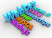 Website development tools HTML CSS SQL PHP node