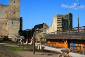 Medieval Castle In Rakvere, Estonia