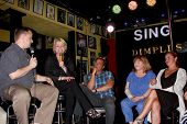 LOS ANGELES- JUN 1: Michael Maloney, Judi Evans, Wally Kurth, Patrika Darbo, Crystal Chappell at the