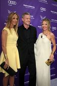 LOS ANGELES - JUN 8:  Kim Raver, Eric Dane, Rebecca Gayheart arrives at the 12th Annual Chrysalis Bu