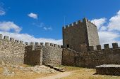 Moorish Castle In Sesimbra