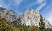 El Capitan And The Wall Of Granite