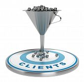 Marketing Sales Or Conversion Funnel