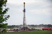 Drilling Rig In Central Colorado, Usa