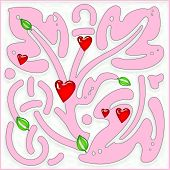 Celebratory Pink Tree