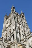 Gloucester Cathedral tower Perpendicular Gothic style
