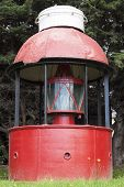 Red Lighthouse In Puerto Montt