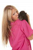 Tierdoktor Kiss Schwein Schulter