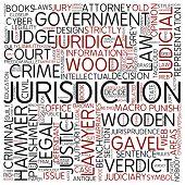 Word cloud - jurisdiction