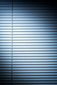 Shutters With Blue Spot Light