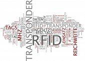 Word cloud - RFID